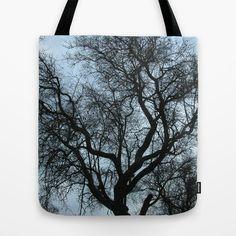 Blue storm Tote Bag by Guido Montañés - $22.00