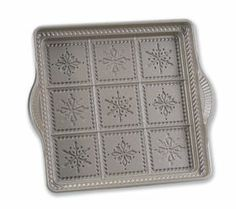 Nordicware nonstick snowflake shortbread pan