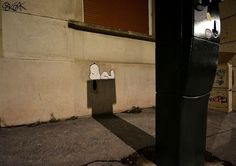 Urban Diversion: Playful Street Art Interventions on the Streets of France