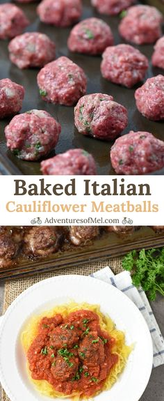 Healthy Meatballs, Meatballs And Rice, Italian Meatballs, Parmesan Meatballs, Healthy Beef Recipes, Ground Beef Recipes, Pasta Recipes, Chicken Recipes, Dinner Recipes