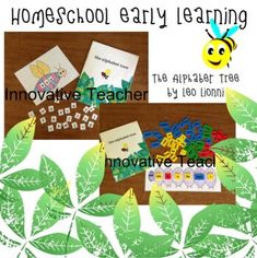The Alphabet Tree Activity (Homeschool Early Learning) by Innovative Teacher All About Me Activities, Fun Activities, September Activities, Reading Resources, Reading Worksheets, School Resources, Early Learning, Abc Learning, Plastic Letters