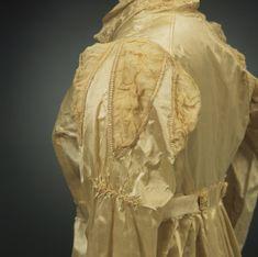 Killerton NT. 1814. pelisse worn by Mary Dunham at her wedding