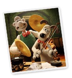 Official wallace and gromit website