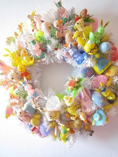 Ok - now I have to start looking for Easter ornaments. World Market here I come. A few rubber ducks will have to be included.