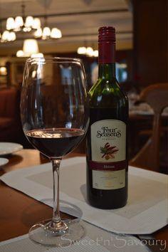 Wine and food India