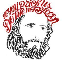 Merchant of Venice - Shylock Monologue by Daniele Tozzi, via Behance