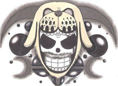 Monkey D. Garp Marine-Emblem. by LoLoOw