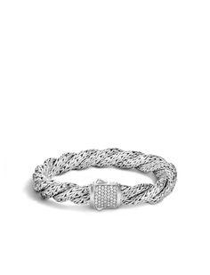 Classic Chain Medium Flat Twisted Chain Bracelet #JohnHardy #MyJohnHardy