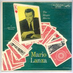 Magic Mario Lanza  RCA Red Seal LP What a great voice! Nobody sings baritone anymore - at least not in the pop scene, which all whispy, gnat-like whining - or rap. For sale  by BrothertownMusic, $19.50
