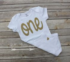 Hey, I found this really awesome Etsy listing at https://www.etsy.com/listing/230169471/gold-first-birthday-bodysuit-glitter