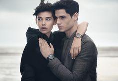 Emporio Armani Fall/Winter 2014 Watches & Jewelry Campaign image ea time002