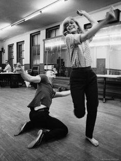 Dance, dance my friend! MERCOURI and Anthony PERKINS