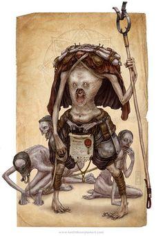 Anthropophagous from artist Keith Thompson