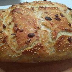 Focaccia Pizza, Ring Cake, Ciabatta, Canapes, How To Make Bread, Creative Food, Scones, Banana Bread, Bakery
