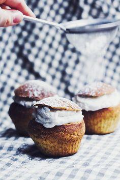 ... gluten-free semlor cupcake with coconut cream ...