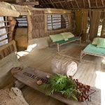 The veranda in Songoro. So many ways to master the art of chilling.