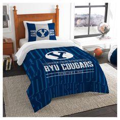 NCAA Northwest Modern Take Twin Comforter Set Byu Cougars - 64 x 86