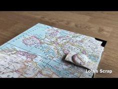 Album viaje mapa. Travel book. DIY - YouTube