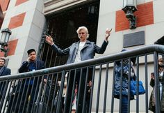 Lucky Blue Smith - The Best Street Style looks from the New York's Fall 2016 Shows photographed by Phil Oh - Vogue - Bxy Frey