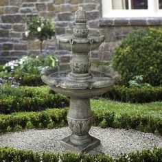 Hampton Bay 3 Tier Fountain 19348 At The Home Depot