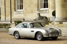 Aston Martin famous for its role in several James Bond films. Aston Martin Db5, Tgif, My Dream Car, Dream Cars, James Bond Cars, The Perfect Getaway, Car In The World, Car Rental, Car Insurance