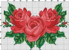 Thrilling Designing Your Own Cross Stitch Embroidery Patterns Ideas. Exhilarating Designing Your Own Cross Stitch Embroidery Patterns Ideas. Cute Cross Stitch, Cross Stitch Rose, Cross Stitch Flowers, Cross Stitch Charts, Cross Stitch Designs, Cross Stitch Patterns, Embroidery Patterns Free, Beading Patterns, Cross Stitching