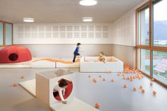 MoDus Architects — Preschool, Kindergarten and Family Center