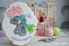 Самый востребованный мишка#имбирныепряникиназаказ #пряникимелитополь #пряникиукраина #др #деньрождения #сладкийподарок #gingerbread #royalicingcookies #artcookies #angelassweets