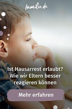 """""""Du gehst jetzt ab auf dein Zimmer und ich will dich nicht mehr sehen! Für den Rest der Woche bleibst du zuhause!"""" So oder so ähnlich ging es dem ein oder anderen von uns wahrscheinlich in seiner Kindheit oder Jugend. Je nachdem was die Kinder anstellen, spielt der ein oder andere von uns vielleicht mit dem Gedanken auch Hausarrest zu geben. Aber ist das rechtlich überhaupt erlaubt? #hausarrest #eltern #verbot #strafe #zuhause #regeln #gesetz #familie #lebenmitkindern #kindheit #teenager… Teenager, School Children, Young Adults, Childhood, Parents, Thoughts, School"""