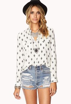 Womens Blouse and shirt | shop online | Forever 21 - 2076857259