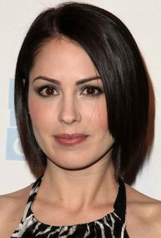 Michelle Borth. She's gorgeous!!!  I'd like dark highlights like her hair colour.