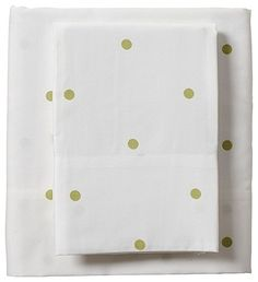YES YES YES! polka dot sheets