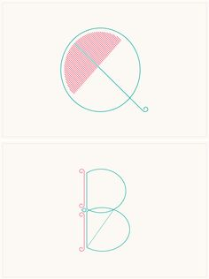 beautiful letters by Marcus Kelman / via Eva Black I really like these ones as the colour scheme is very simple and contains only two Colours that contrast together. The Q has a small umbrella in it to look like the Q, I like this sort of idea. Typography Letters, Typography Logo, Graphic Design Typography, Hand Lettering, Logo Design, Pretty Fonts, Cool Fonts, Small Umbrella, City Logo