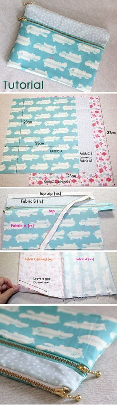 Are you searching for some DIY Pencil case tutorials for back to school season? This list is full of beautiful patchwork pouches, flat pencil cases, binder pencil cases & even a crochet pencil case! There are some great Pencil case projects in this post. Zip Pouch Tutorial, Pencil Case Tutorial, Diy Pencil Case, Pencil Cases, Pencil Case Pattern, Pencil Pouch, Purse Tutorial, Crochet Pencil Case, Tote Pattern