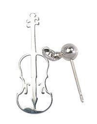 Ohrringe aus Edelstahl Geige