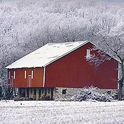 Pennsylvania - The famous PA bank barn. Played in them as a kid..