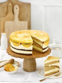 Orangen-Honig-Torte (Heft: Dezember 2015) Foto © Maike Jessen für ARD Buffet Magazin