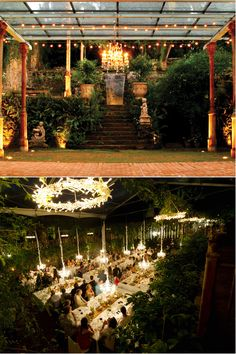 Haiku Mill in Maui, Hawaii | 22 Of The Coolest Places To Get Married InAmerica (the seating arrangement at the reception ❤⭐)