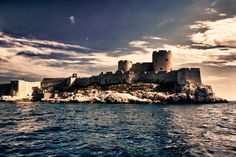 Chateau d'If  Setting of Count of Monte Cristo