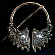 Copy of the Hatteberg Brooch from the 9th Century.