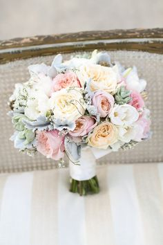 Photography by Jennifer Ebert   This bouquet has all the trendy blooms, style me pretty-perfect!
