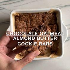 Vegan Sweets, Vegan Desserts, Healthy Desserts, Dessert Recipes, Chocolate Oatmeal Cookies, Chocolate Desserts, Chocolate Bars, Keto Chia Seed Recipes, Recipes Breakfast Video