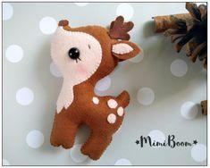Felt deer pattern Felt sewing deer PDF tutorial DIY deer | Etsy Animal Sewing Patterns, Felt Patterns, Stuffed Animal Patterns, Pattern Sewing, Stuffed Animals, Weaving Patterns, Sewing Toys, Sewing Crafts, Free Sewing