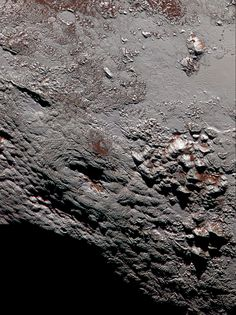 Scientists with NASA's New Horizons mission have assembled this highest-resolution color view of one of two potential cryovolcanoes spotted on the surface of Pluto by the New Horizons spacecraft in July 2015 Source