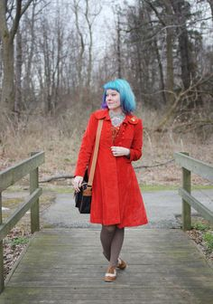 The Dainty Squid: what I wore : orange you glad