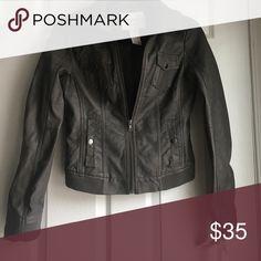 American Rag Pleather Jacket Brand new American Rag gray faux leather jacket. American Rag Jackets & Coats