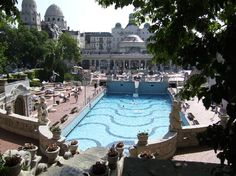 Stay at the Hotel Gellert