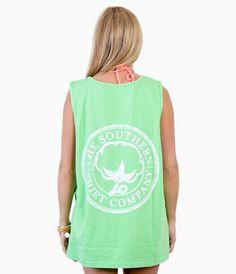 Seaside Reef the southern shirt co. tank