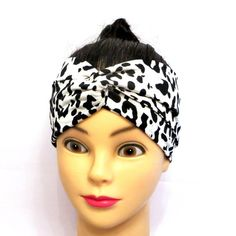 Trendy turban head wrap made of jersey fabric. Twisted turban headband made of jersey fabric, animal print White leopard animal print Approx. inches large one size fits most, adult turban headband Easy care hand wash , lay flat to dry Twist Headband, Turban Headbands, Floral Headbands, Boho Hairstyles, Twist Hairstyles, Bohemian Headband, Tropical Flowers, Head Wraps, Flower Prints
