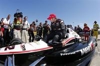Power wins, Franchitti in big crash Houston Racer.com